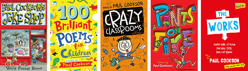 Paul Cookson Books